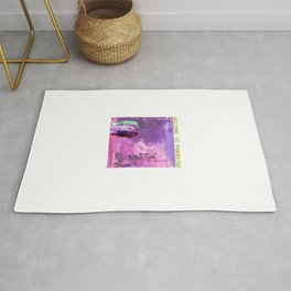 Retro Aesthetic Streetwear Gift Vaporwave Welcome to paradise Rug