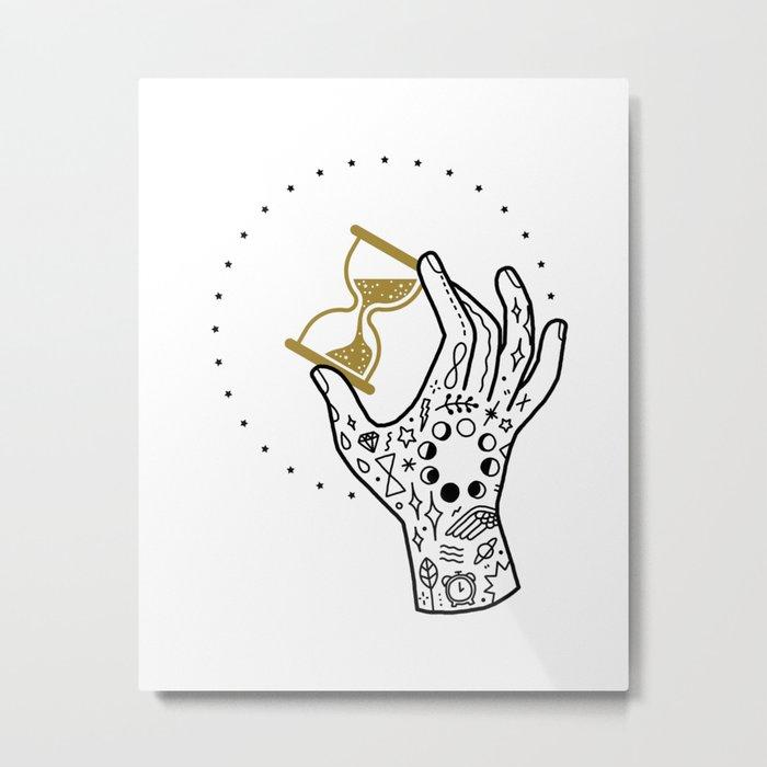 Wait Metal Print