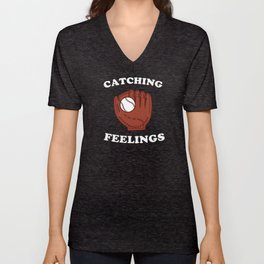 Catching Feelings Unisex V-Neck