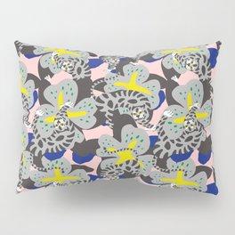 Tiger & Flower Pillow Sham