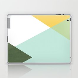 Geometrics - citrus & concrete Laptop & iPad Skin