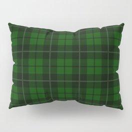 Forest Green Plaid Pillow Sham