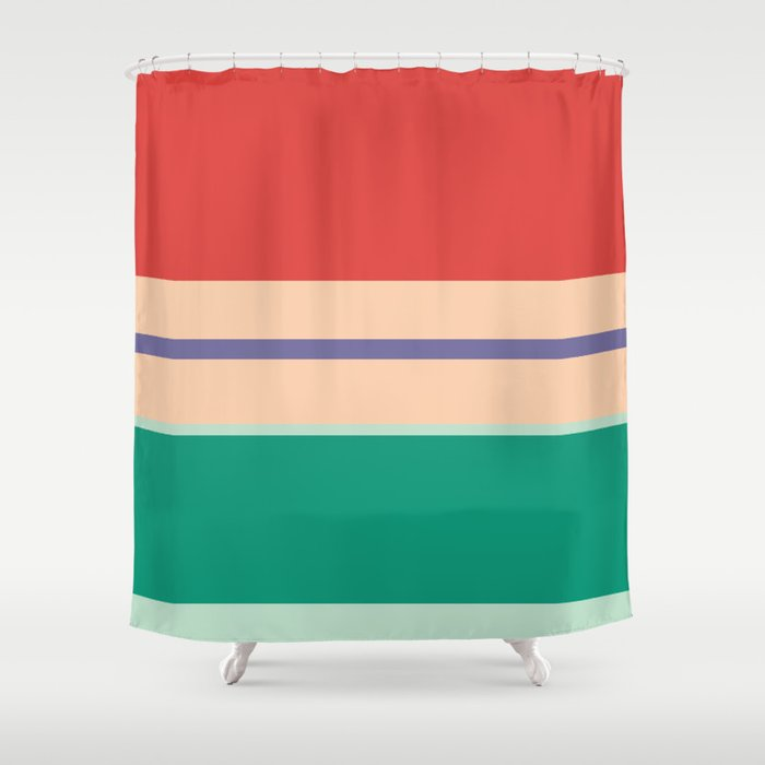 Ariel Shower Curtain By Frauleinfisher