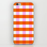 allyson johnson iPhone & iPod Skins featuring Allyson by Anh-Valérie