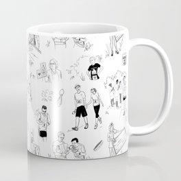 Fun Run with No Text Coffee Mug