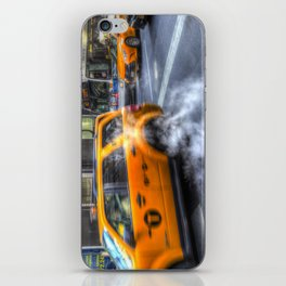New York Taxis iPhone Skin