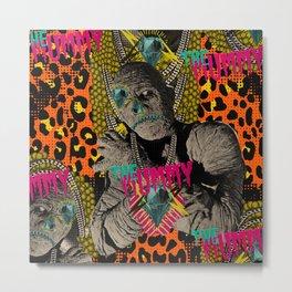 The Mummy Metal Print