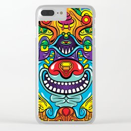 God of Absurdity Clear iPhone Case