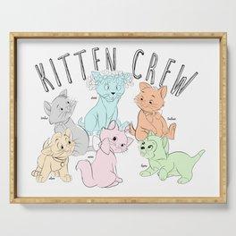 Kitten Crew Serving Tray
