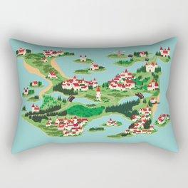 Ghastly Island Rectangular Pillow
