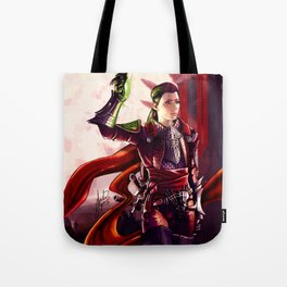 Dragon Age Inquisition - Cleo the human rogue Tote Bag