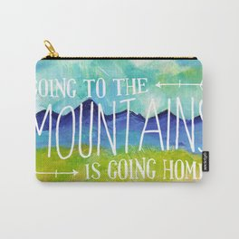 Going to the Mountains, Tetons Landscape Carry-All Pouch
