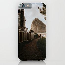 Cozy Cannon Beach, Oregon iPhone Case