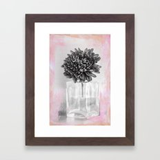 VINTAGE GERBERA Framed Art Print