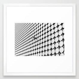 Observing convergence (Melbourne, 2014) Framed Art Print