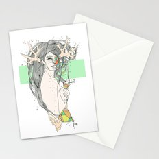 colour blind VI Stationery Cards