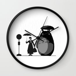 mary and neighbour Wall Clock