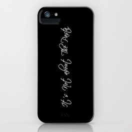 It's Not About the Pasta iPhone Case