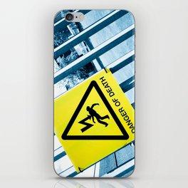 Danger of Death #3 | Press PLAY To Die iPhone Skin