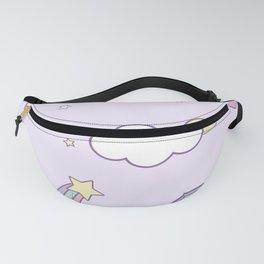 Purple Unicorn Fanny Pack