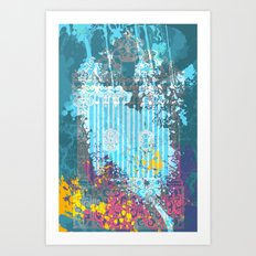 floral 007. Art Print