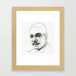 Martin L. King Jr. Framed Art Print