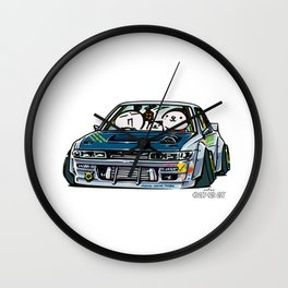 Crazy Car Art 0154 Wall Clock