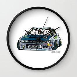 Crazy Car Art 0154 Wall Clock