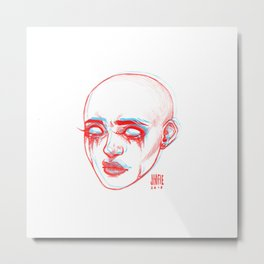 hallucinations Metal Print
