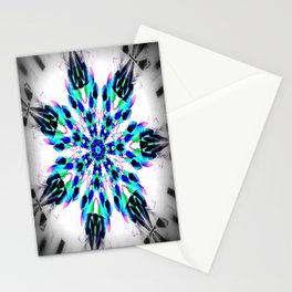 Frozen Snowflake Stationery Cards