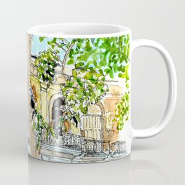 View from Parque Cristo, Habana Vieja, Cuba Coffee Mug