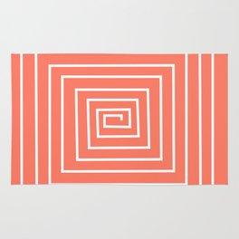 coral decor labirint Rug