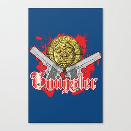 Gangster Canvas Print