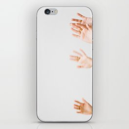 Wave Your Hands iPhone Skin