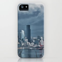 Seattle's shades of gray iPhone Case