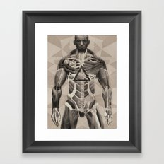 More Human Than Human Framed Art Print