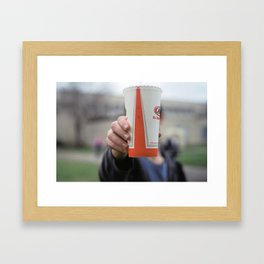 The Death of Us All Framed Art Print