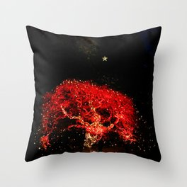 different kind of christmas tree Throw Pillow