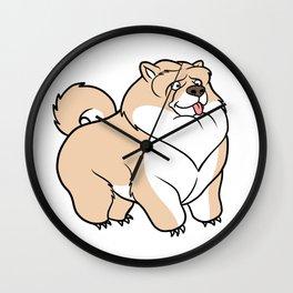 Gordon the Chow Chow Wall Clock