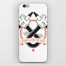 Streets For The Kids iPhone & iPod Skin