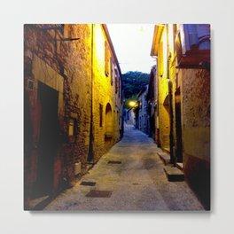 La rue de Van Gogh... Metal Print