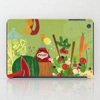 italian iPad Cases featuring Italian Food by Elisandra
