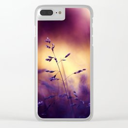 Simple Things Clear iPhone Case
