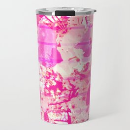 Cherry Bomb Stripe Travel Mug