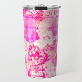 Cherry Bomb Stripe Travel Mug