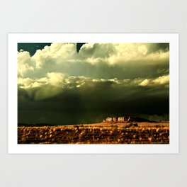 Heaven and Mesa Art Print