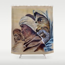 FREE SPIRITS - sunny version Shower Curtain