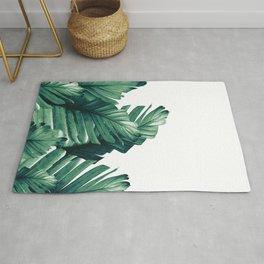 Green Banana Leaves Dream #1 #tropical #decor #art #society6 Rug