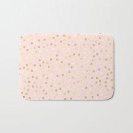 Pink Confetti Bath Mat