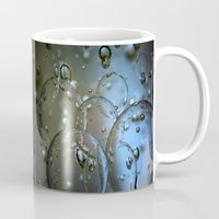 jewish Mugs featuring Voir le beau verre  by Brown Eyed Lady